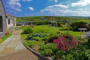Daly's House B&B Doolin - Accommodation Bed & Breakfast on Ireland's Wild Atlantic Way Garden
