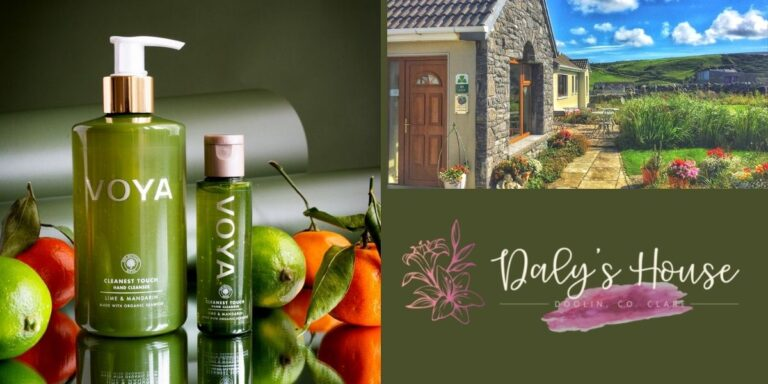 Voya Green Products at Daly's House B&B - Doolin, Clare Accommodation