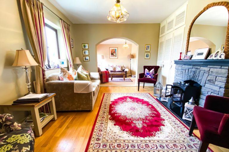 Daly's House B&B Doolin Co. Clare Ireland accommodation - living room