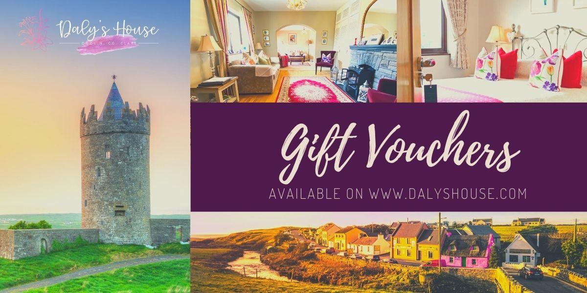 Gift Vouchers Daly's House B&B Doolin